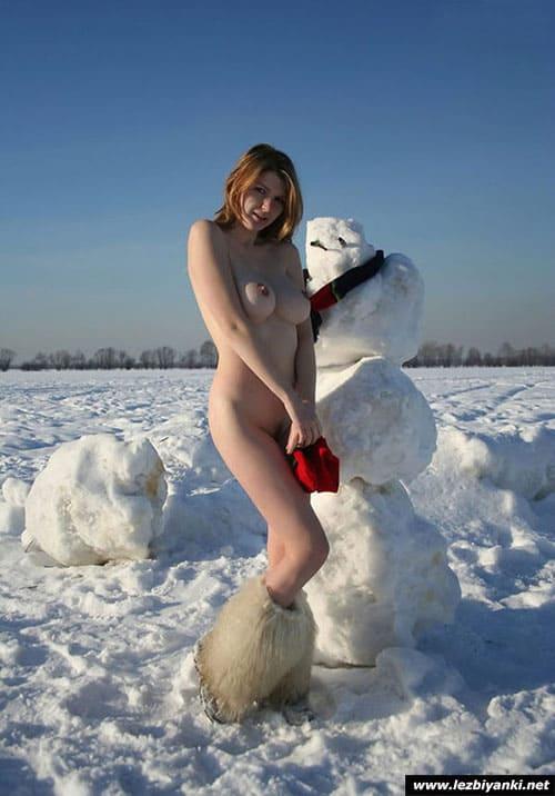 Порно Со Снеговиком