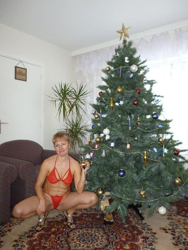 Новогоднее частное ню фото